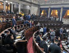 El Congreso conoció  cuatro préstamos que fueron tramitados por Guatemala con diferentes bancos internacionales. (Foto Prensa Libre: Hemeroteca PL)