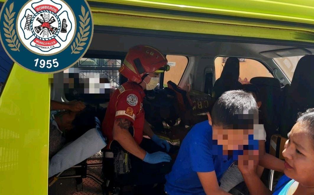 Estudiantes resultan con síntomas de intoxicación por incendio forestal