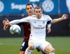 A pesar de la molestia en el dedo, Gareth será opción para Zidane. (Foto Prensa Libre: EFE)