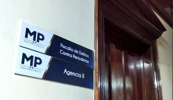 En la Fiscalía de Delitos contra Periodistas ya se investiga la denuncia de más de 15 mujeres periodistas acosadas por teléfono. (Foto Prensa Libre: PDH)