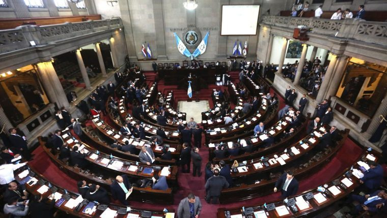 La octava legislatura podría ser indemnizada por un acuerdo aprobado por la Comisión Permanente en diciembre de 2019. (Foto Prensa Libre: Hemeroteca PL)