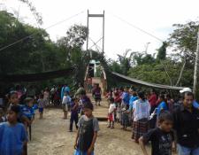 La empresa que impulsa el proyecto hidroeléctrica Central Rocja Pontila en Alta Verapaz, asegura tener apoyo de las comunidades aledañas al lugar. (Foto, Prensa Libre: Facebook Central Rocja Pontila).