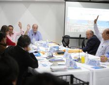 La comisión de postulación para el TSE aplicará este lunes las pruebas psicométricas. (Foto Prensa Libre: Carlos Hernández)