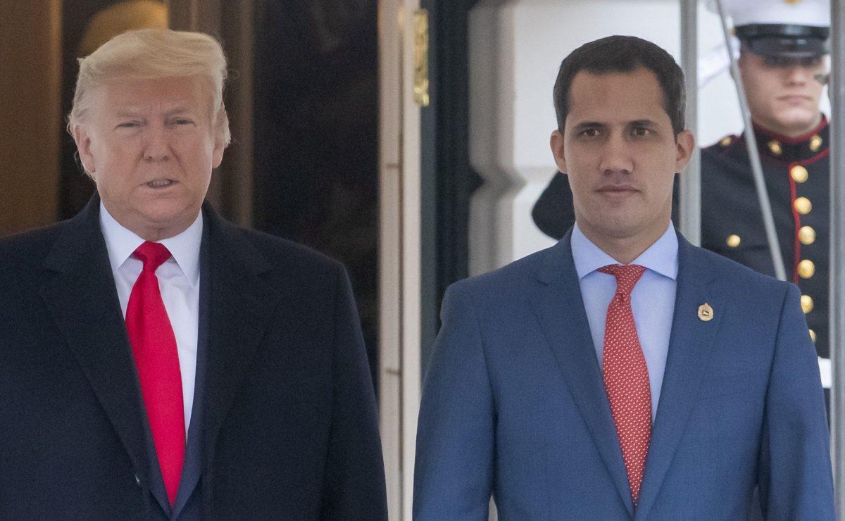 Venezuela: Trump da un discreto espaldarazo a Guaidó y planea más medidas contra Maduro