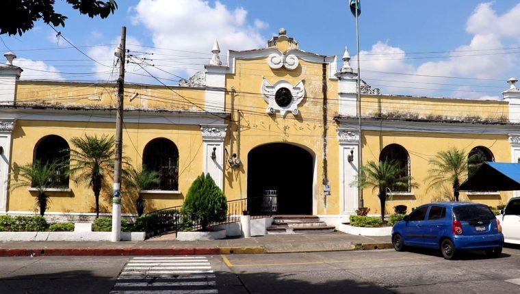 Edificio de gobernación departamental, Suchitepéqez. (Foto Prensa Libre: Marvin Túnchez)