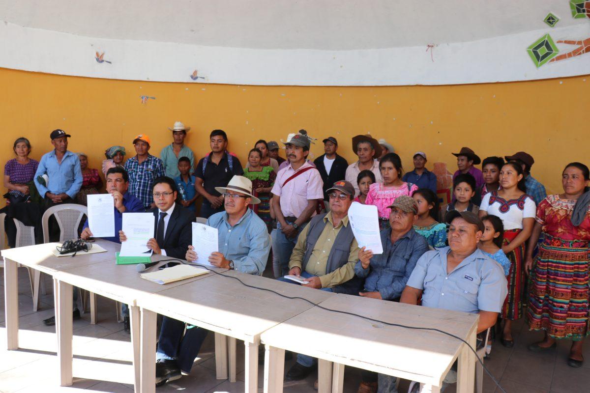 Crece rechazo a la toma de posesión de José Pérez alcalde de Santa Cruz del Quiché