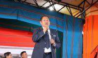 Francisco Pérez Reyes alcalde de Santa Cruz del Quiché afirma que todo eso es una revancha política de candidatos que no ganaron las pasadas elecciones, (Foto Prensa Libre: Héctor Cordero)