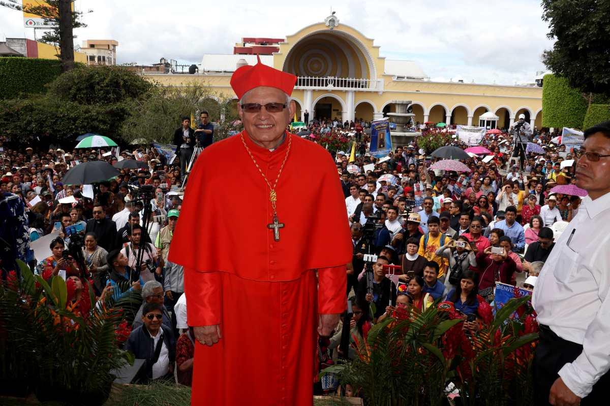 Cardenal critica forma de elección de magistrados y propone participación ciudadana