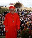 El cardenal Álvarao Ramazzini pide valorar los valores éticos y morales de los aspirantes a magistrados de la Corte Suprema de Justicia antes que sus méritos académicos. (Foto Prensa Libre: Mike Castillo)