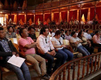 Exigen a líderes comunitarios evitar politización de Cocodes