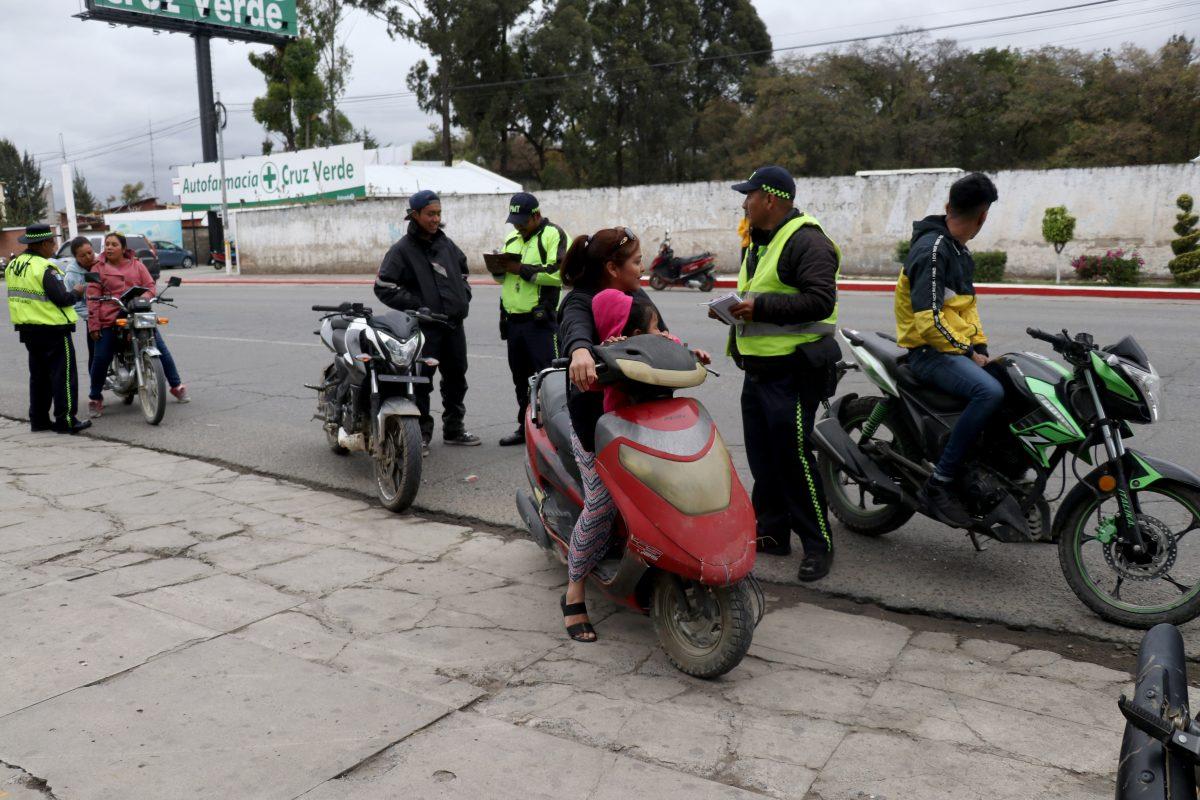 ¡Confirmado! La PMT de Huehuetenango intensifica los controles a los motoristas