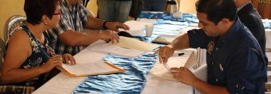 Sociedad civil de Suchitepéquez informó que mañana podría dar a conocer los nombres de las personas que integran la terna. (Foto Prensa Libre: Marvin Túnchez)