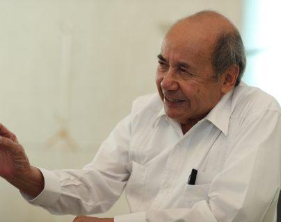 Romeo Ruiz Armento, embajador de México en Guatemala. (Foto Prensa Libre: Miriam Figueroa)