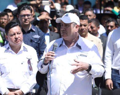 El presidente Alejandro Giammattei estuvo cinco días en Quetzaltenango. (Foto Prensa Libre: Gobierno de Guatemala)
