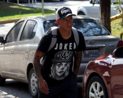 Stheven Robles espera recuperarse pronto. (Foto Prensa Libre: Carlos Vicente)