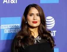 La actriz Salma Hayek participará en los Premios Óscar. (Foto Prensa Libre: EFE)