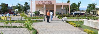 San Jorge fue elevado a la categoría de municipio el 28 de enero del 2014. (Foto Prensa Libre: Wilder López)