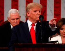 Donald Trump, presidente de Estados Unidos. (Foto Prensa Libre: Hemeroteca PL)
