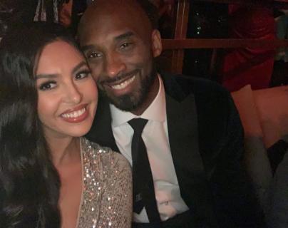 Vanessa y Kobe Bryant en su celebración del 50 aniversario. (Foto Prensa Libre: Instagram vanessabryant).