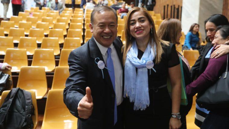 La jueza Elia Raquel Perdomo Ruano. fue electa como titular y Roberto Hernán Rivas Alvarado, como suplente ante el Consejo de la Carrera Judicial (CCJ). Foto Prensa Libre: Érick Ávila