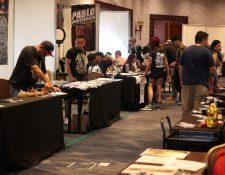 Expo Tattoo Guatemala se lleva a cabo en el Hotel Real Intercontinental, zona 10. (Foto Prensa Libre: Carlos Hernàndez)
