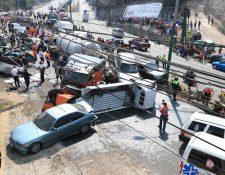 El reglamento busca asegurar a las víctimas de accidentes de un resarcimiento por los daños ocasionados. (Foto Prensa Libre: Hemeroteca PL)
