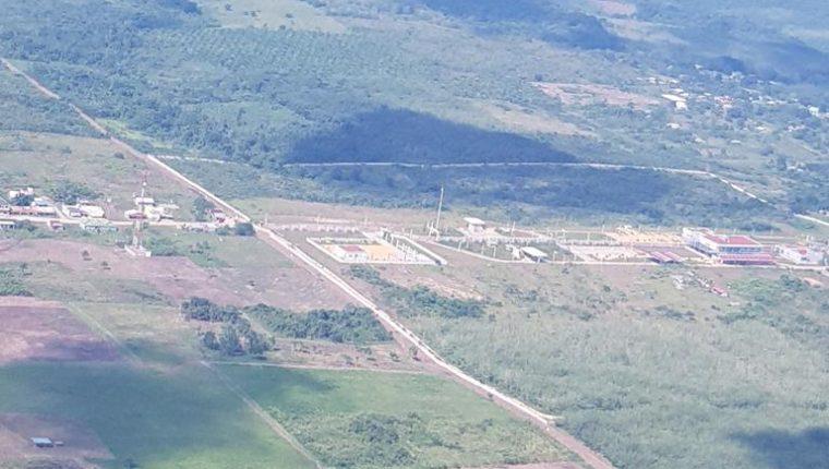 Este es el sector donde se construirá el Puerto Terrestre Fronterizo Ingenieros en Quiché y la aduana Nuevo Orizaba en Chiapas, México. (Foto Prensa Libre: Cortesía)