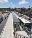 Vista de Centra Atlántida, zona 18. (Foto Prensa Libre: Andrea Domínguez).