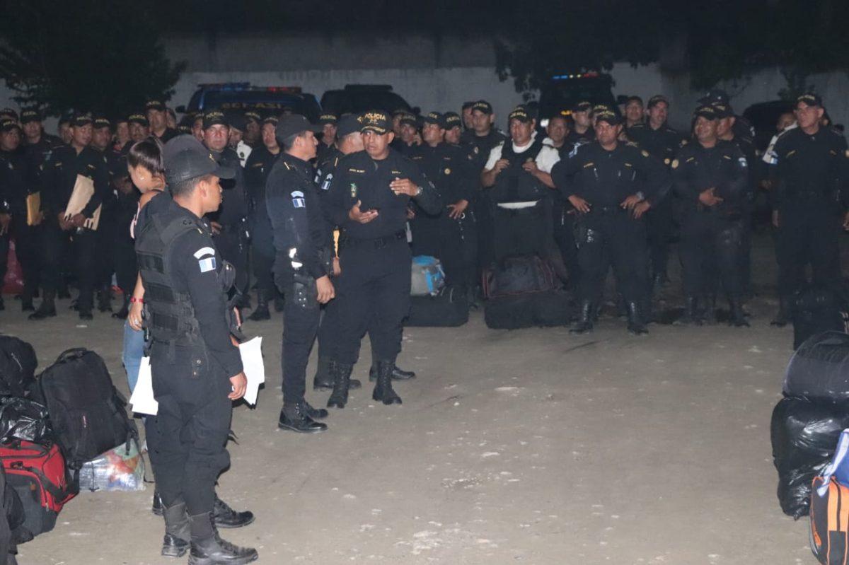 Ante incremento de violencia y falta de resultados, remueven a agentes de la PNC de Morales