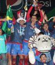 Xelajú MC logró su último título en el 2012 cuando vencieron a Municipal en penales. (Foto Prensa Libre: Raúl Juárez)