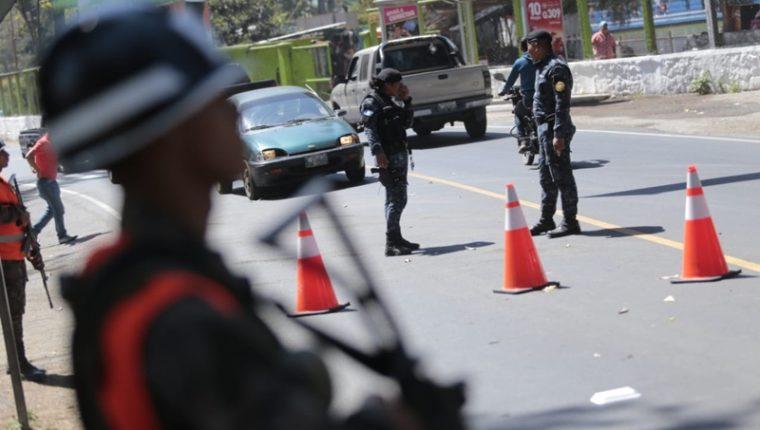 El estado de Prevención en tres municipios de Chimaltenango duró 6 días. (Foto Prensa Libre: Mingob)