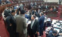 Vista de la sesión plenaria donde fue aprobada la reforma a la Ley de ONG y Código Civil. (Foto Prensa Libre: Hemeroteca PL)