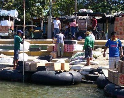 Los productos de contrabando continúan ingresando al país. (Foto Prensa Libre: Hemeroteca)