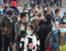 El coronavirus Covid-19 se ha extendido a más de 29 países, los contagios ya suman más de 75 mil casos. (Foto Prensa Libre: EFE)
