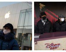 Apple y Disney sufren impacto económico por el coronavirus. (Foto Prensa Libre: AFP)