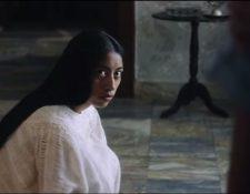 La Llorona es protagonizada por la actriz guatemalteca María Mercedes Coroy. (Foto Prensa Libre: captura de pantalla)