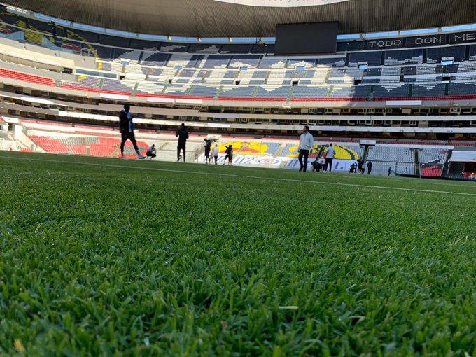 Video: Comunicaciones llega al Estadio Azteca previo al juego de vuelta contra el América