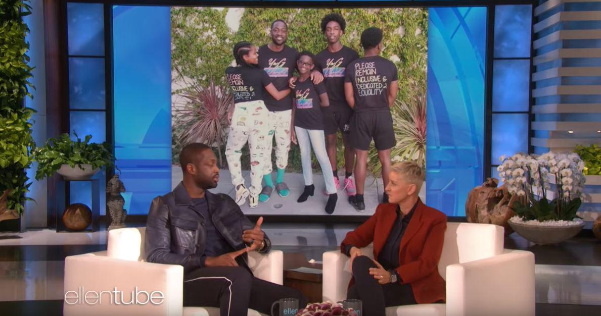 Dwyane Wade revela que su hijo de 12 años se reconoce como una chica
