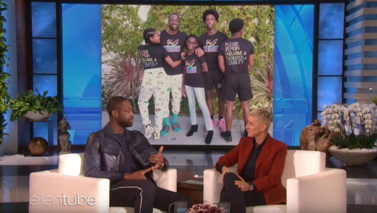 Wade conversó con Ellen DeGeneres en su programa. (Foto Prensa Libre: Youtube)