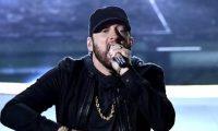 """Eminem cantó """"Lose yourself"""", el tema por el que ganó un Oscar en 2003."""