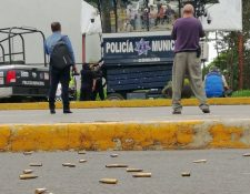 La violencia relacionada con el narcotráfico deja decenas de muertos en México. (Foto Prensa Libre: EFE)