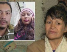 Irma Reyes teme por su vida luego de entregar a las autoridades a los presuntos asesinos de Fátima. (Foto Prensa Libre: Univisión Noticias).