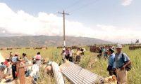 El desalojo de campesinos por policías en el Valle Polochic, en Alta Verapaz, son un ejemplo de la fuerza utilizada contra los pueblos indígenas que defienden sus tierras. (Foto Prensa Libre: Hemeroteca PL).