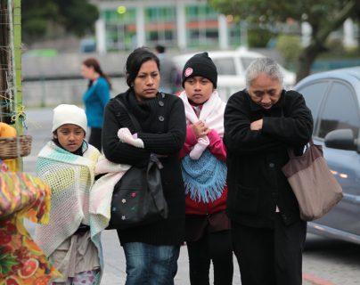 Frío y vientos fuertes de hasta 60 km por hora azotarán el fin de semana en Guatemala