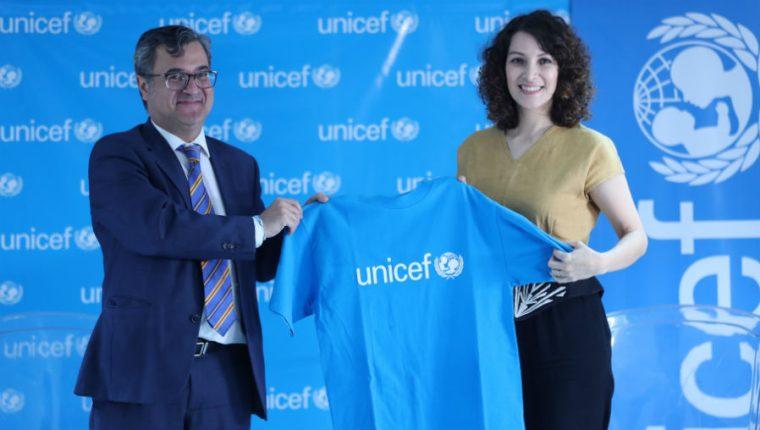 La cantautora Gaby Moreno fue nombrada por la Unicef como Embajadora Nacional. (Foto Prensa Libre: Keneth Cruz)