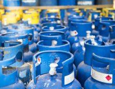 La libra de gas disminuyó Q0.20 y el preció del cilindro de 25 libras se cotiza en Q105 este martes confirmó la Diaco. (Foto Prensa Libre: Hemeroteca)