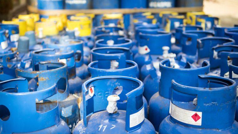 En lo que va del año se han registrado tres ajustes en los precios del gas. (Foto Prensa Libre: Hemeroteca)