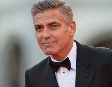 George Clooney, actor y embajador de Nespresso. (Foto Prensa Libre: AFP)