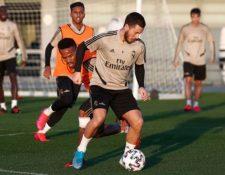 Eden Hazard es una baja sensible en el armado Belga y del Real Madrid. (Foto Prensa Libre: )