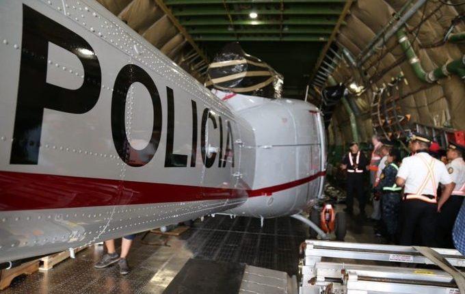 Helicópteros para combatir narcotráfico están sin uso